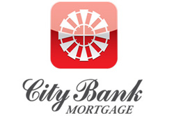 City Bank Logo preferred lender for CareFree Homes